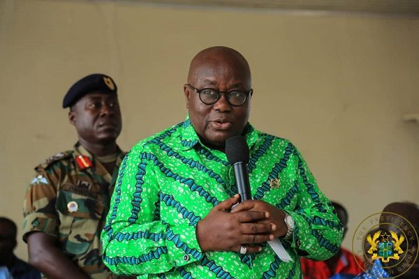 GHC500m for Ashanti region roads – Nana Addo