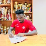Ghana defender Patrick Asmah joins Slovakian side FK Senica