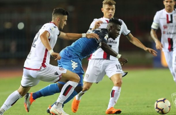 Afriyie Acquah hails 'memorable' Empoli debut as Blues beat Cagliari in Serie A opener