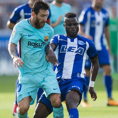 WATCH: Messi bamboozles Wakaso and almost left him without a hip