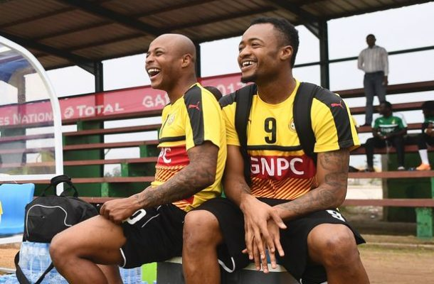 Andre Ayew breathe sigh of relief following Jordan's switch to Crystal Palace