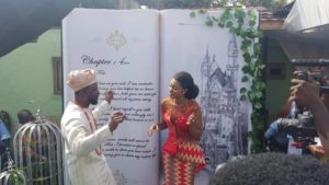 PHOTOS: Becca marries Nigerian businessman in a lavish ceremony