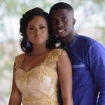 Chantelle Asante's white wedding today
