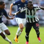 Christian Atsu features in Newcastle's opening day defeat to Tottenham