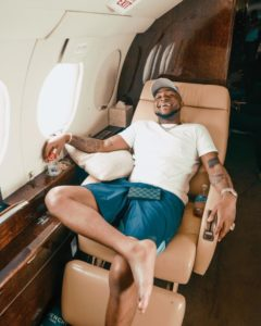 PHOTOS: Davido buys Private Jet; arrives in Nigeria