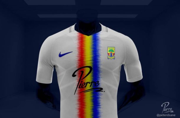 PHOTOS: New home and away jersey proposal for Hearts of Oak