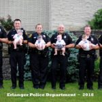 AMAZING: 8 Police Officers from Same Department Pose with their Newborns