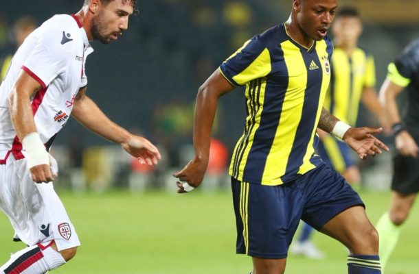 Andre Ayew impresses on Fenerbahçe debut in friendly win over Cagliari