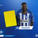 Wakaso and Twumasi involved in Deportivo Alaves stalemate with Real Betis