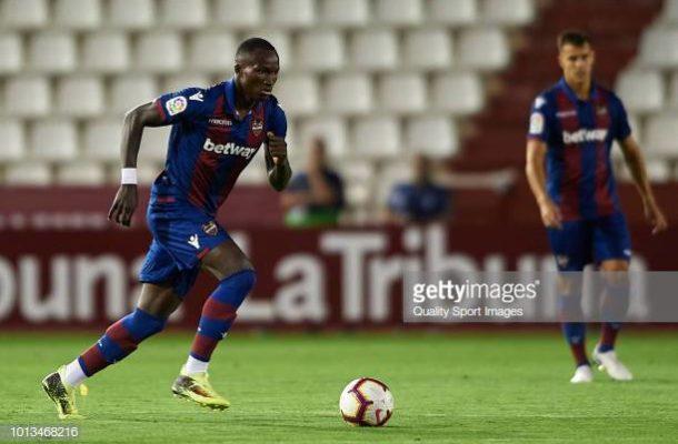 Cameo La Liga debut and assist for Ghana striker Raphael Dwamena as Levante thrash Betis