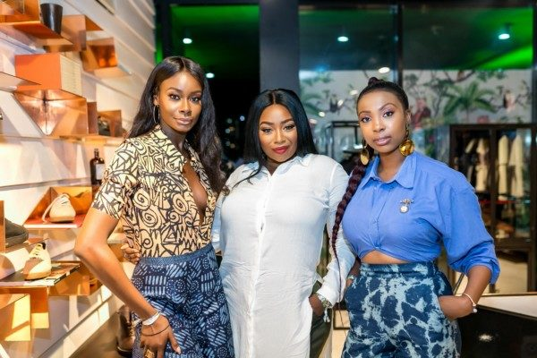 Peace Hyde attends launch of Monkey 47 Schwarzwald Dry Gin in Nigeria