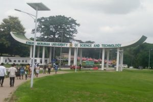 VIDEO: Male KNUST students harass females in Conti