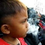 SHOCKING: 2-year-old chain smoker takes up to 40 cigarettes a day