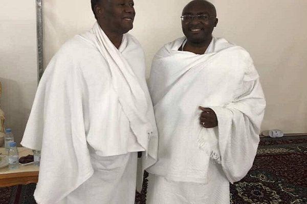 Hajj 2018:Ghana VP Bawumia meets Ivory Coast President Ouattara in Mecca