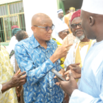 Mustapha Hamid tours Zongos; promises to prioritize education