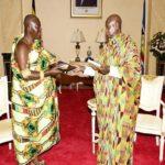Asantehene meets Museveni over Ghana-Uganda ties