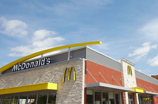 SHOCKING VIDEO: Couple were filmed having sex while ordering food at a busy McDonald's
