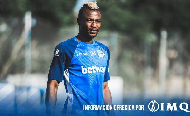 Deportivo Alaves forward Patrick Twumasi suffers ankle injury in training