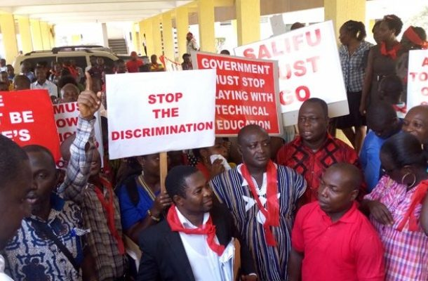 TUTAG accuse government of discrimination; declares indefinite strike