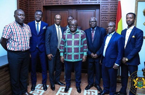 Akufo-Addo meets Katanga, Conti alumni over hall conversion