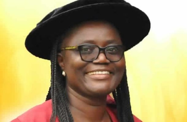 KNUST gets first female Pro-V-C