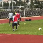 Belgium-based striker William Owusu trains with Black Stars for the first time