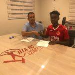 Aduana Stars winger Emmanuel Boateng joins Israel side Hapoel Tel Aviv on 4 year deal