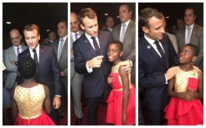 VIDEO: DJ Switch meets France President Emmanuel Macron in New York