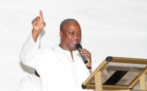Video: God can favour you in difficult times – Mahama preaches