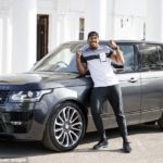 PHOTOS: Anthony Joshua's £150k personalised Range Rover stolen in London days before heavyweight title fight
