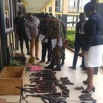 Ashanti Police receive 9,000 smuggled weapons