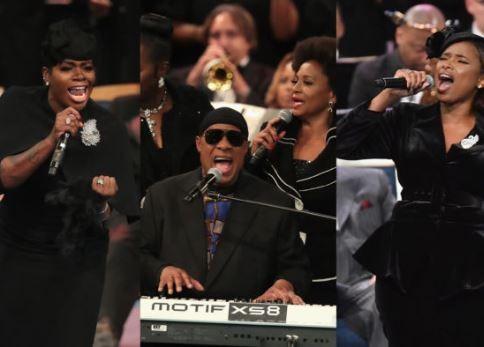 VIDEOS: Jennifer Hudson, Stevie Wonder, Ariana Grande perform at Aretha Franklin's funeral
