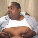 SHOCKING: Pastor's brain tumour causes his nipples to leak milk