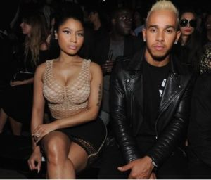 VIDEO: Nicki Minaj and rumoured new boo, Lewis Hamilton spotted in Dubai