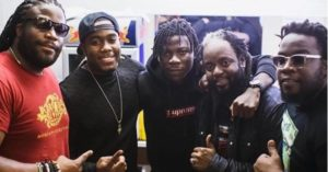 Morgan Heritage in Ghana to shoot video with Stonebwoy, Diamond Platnumz