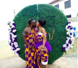 PHOTOS: Actor Eddie Nartey weds