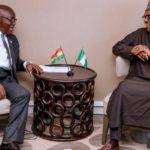 Akufo-Addo, Buhari meet on Nigerian retailers in Ghana