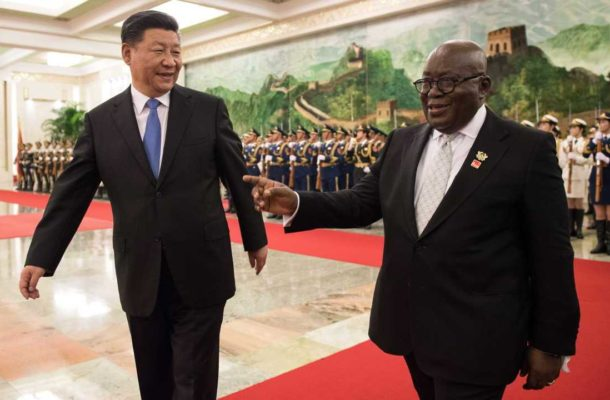 Relationship with China not uniquely Ghanaian – Akufo-Addo