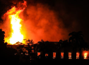 VIDEO: Brazil suffers loss as 200-Year-Old National Museum goes up in Flames