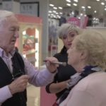84-year-old Man learns Makeup after wife begins losing eyesight