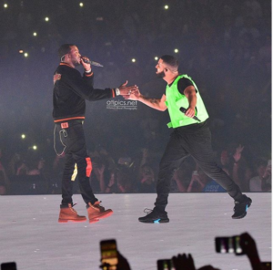 PHOTOS: Drake and Meek Mill end long time feud at concert