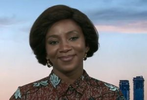 VIDEO: Genevieve Nnaji gets interviewed by CNN after her movie 'Lion Heart' makes history