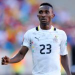 Harrison Afful ruled out of Afcon 2020 qualifiers against South Africa , Sao Tome