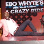 Uncle Ebo Whyte's 'Crazy Ride' of laughter