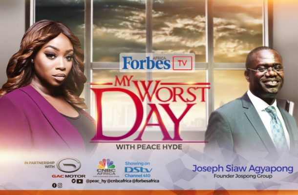 Ghana's Waste Management Mogul Joseph Siaw Agyapong features on Forbes Africa's 'My Worst Day' with Peace Hyde'