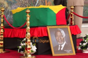 PHOTOS: Ghanaians pay last respect to Kofi Annan