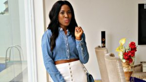 Africa's richest blogger, Linda Ikeji welcomes first child