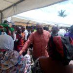 Mahama begins NDC flagbearership campaign tour; says Ghanaians ready for NDC return