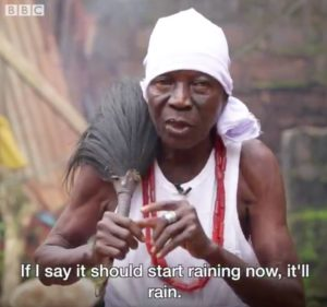 VIDEO: This Nigerian Man claims to be a Rainmaker| Watch BBC Africa put him to the Test