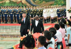 VIDEO: Chinese Police Band plays 'Oye' to surprise Akufo-Addo